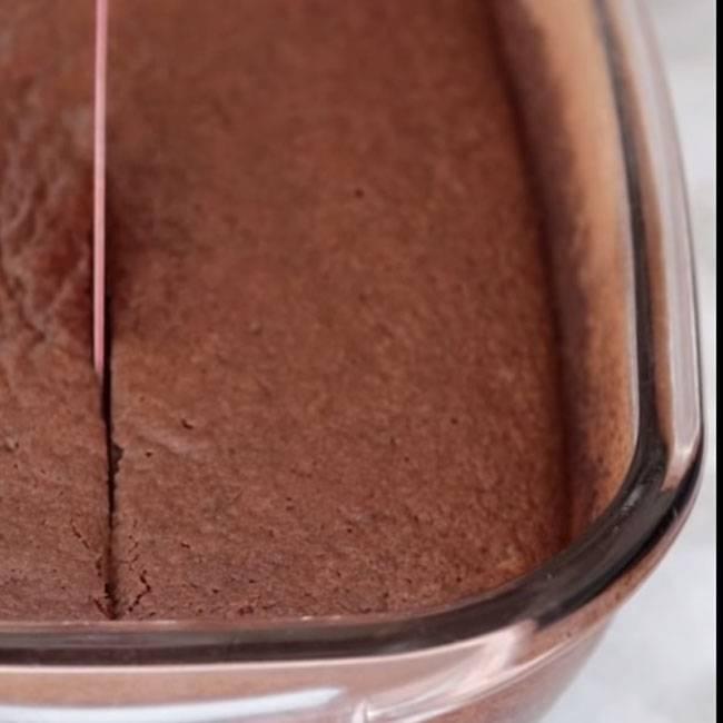 Bolo de Chocolate Diet de Liquidificador