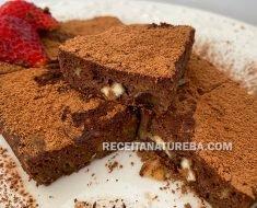 Brownie Low Carb de Microondas