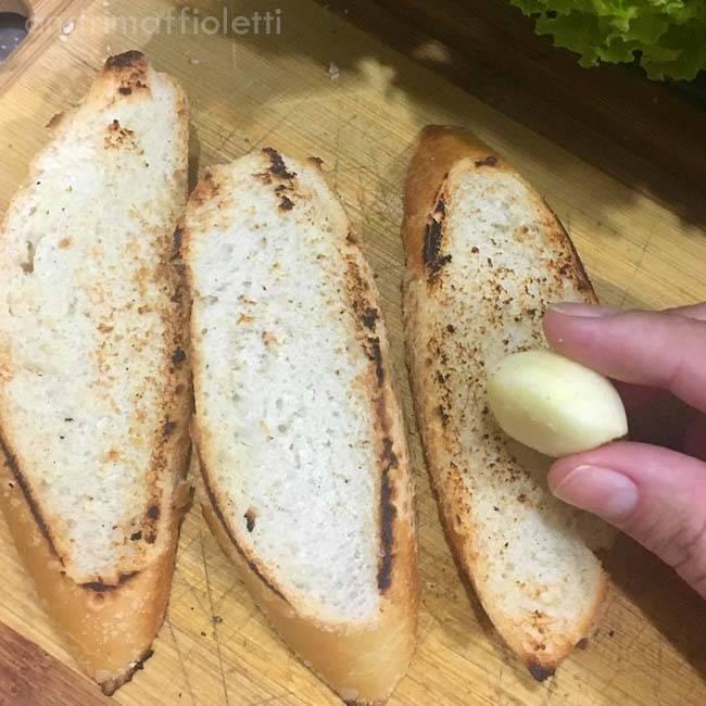 Brusqueta Vegetariana