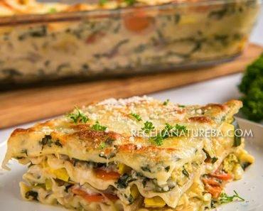 Lasanha Vegetariana Fácil
