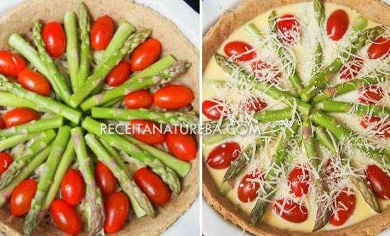 Quiche de Tomate Integral