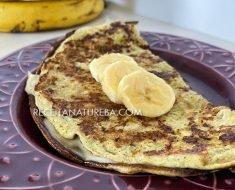 Receita de Omelete de Banana