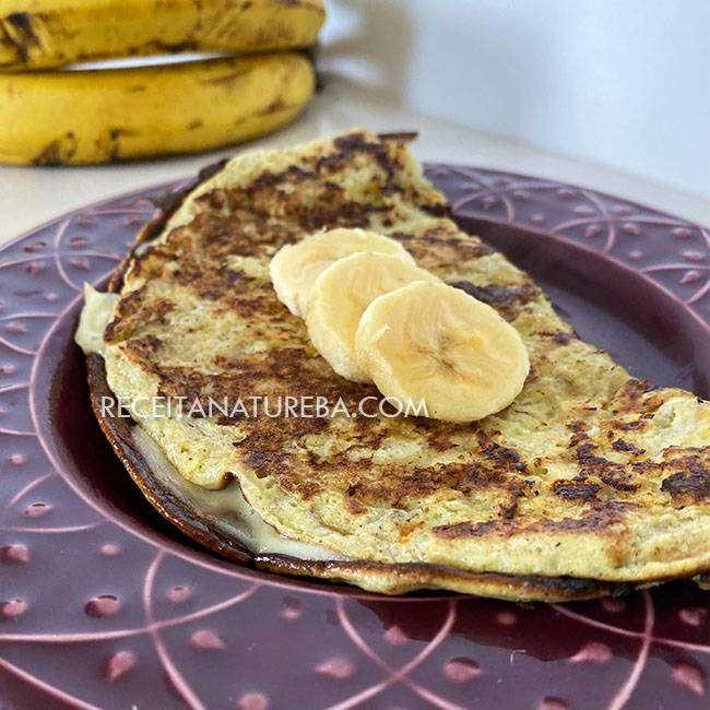Receita-de-Omelete-de-Banana Cardápio para Dieta Saudável