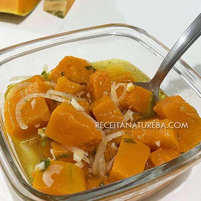 Salada-de-Abóbora Salada de Abóbora