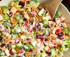 Salada de Maçã com Creme de Leite