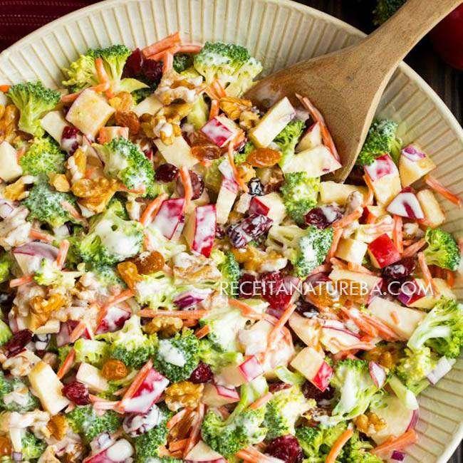 Salada-de-Maçã-com-Creme-de-Leite1 Salada de Maçã com Creme de Leite