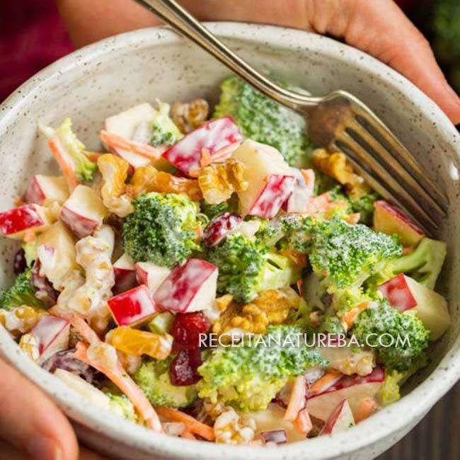 Salada-de-Maçã-com-Creme-de-Leite4 Salada de Maçã com Creme de Leite