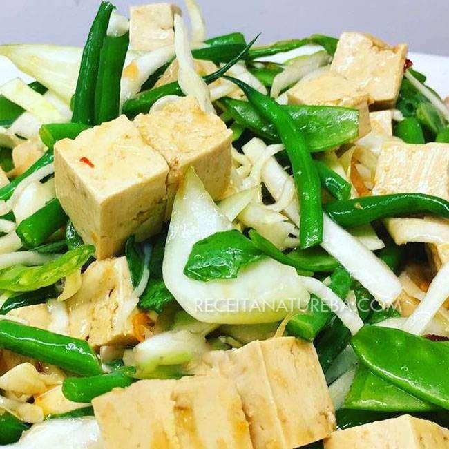 Salada-de-Tofu Salada de Tofu