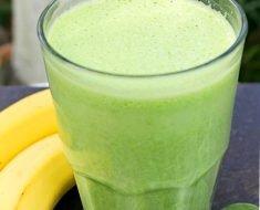 Suco Verde de Banana