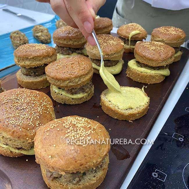 Pão-de-Hambúrguer-Sem-Glúten-6 Pão de Hambúrguer Sem Glúten