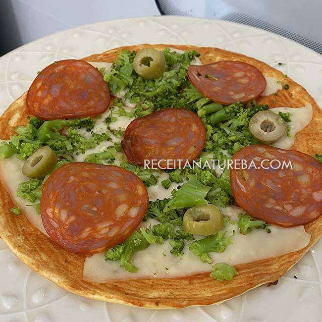 Pizza de Frigideira Light