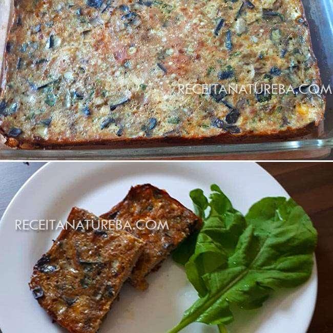 Torta de Berinjela com Carne Moída
