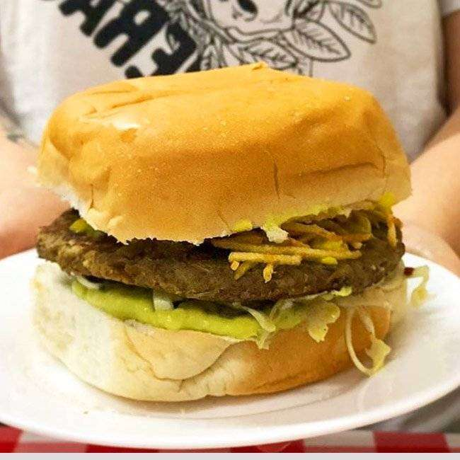 Hambúrguer-de-Lentilha Hambúrguer de Lentilha