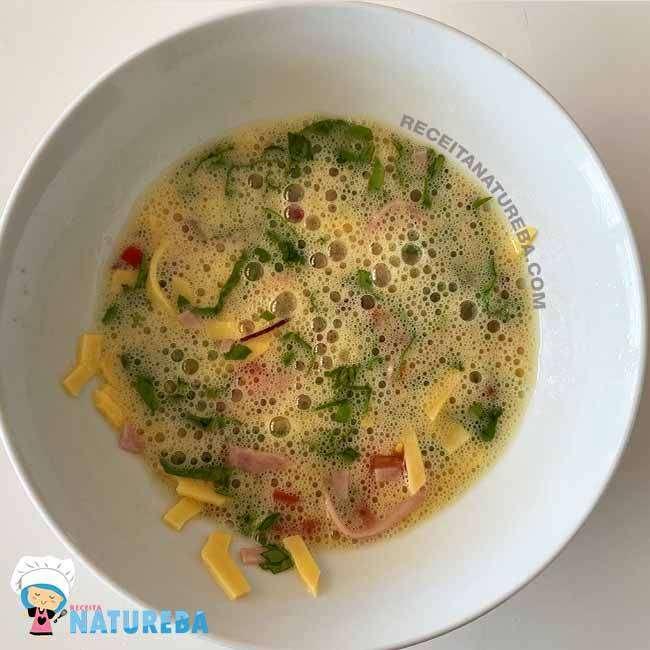 Omelete-com-Tomate2 Omelete com Tomate