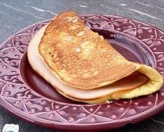 Panqueca Low Carb de Café da Manhã