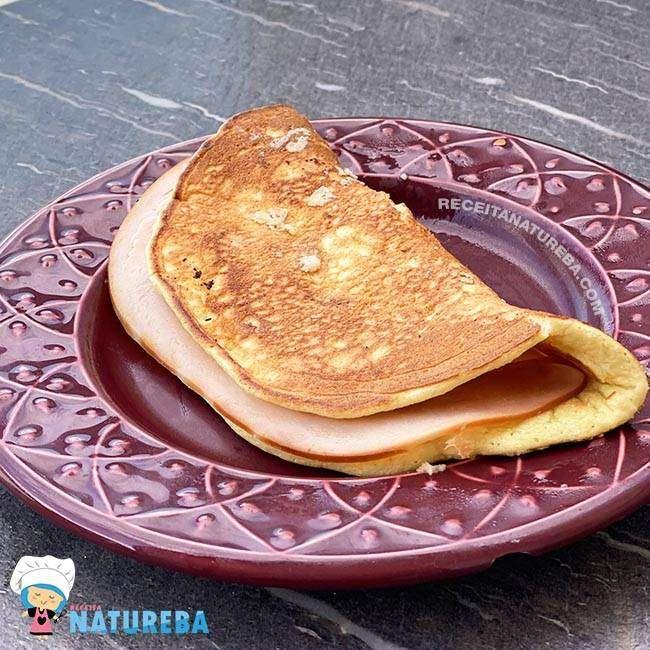 Panqueca-Low-Carb-de-Café-da-Manhã2 Panqueca Low Carb de Café da Manhã