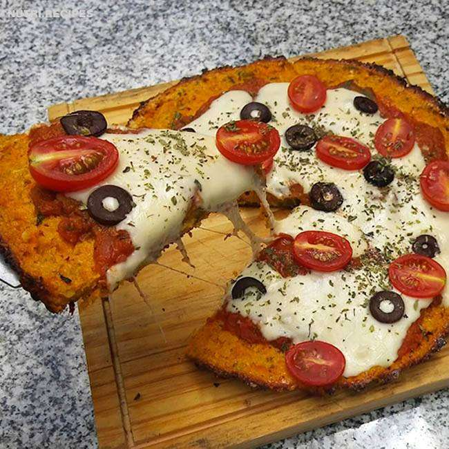 Receita de Pizza Light