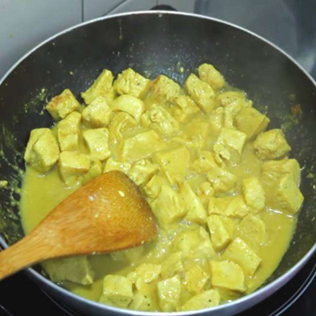 Receita de Frango ao Curry