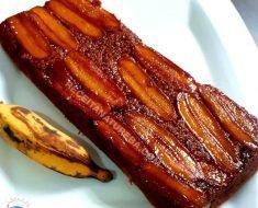 Bolo de Banana com Farinha de Amêndoas