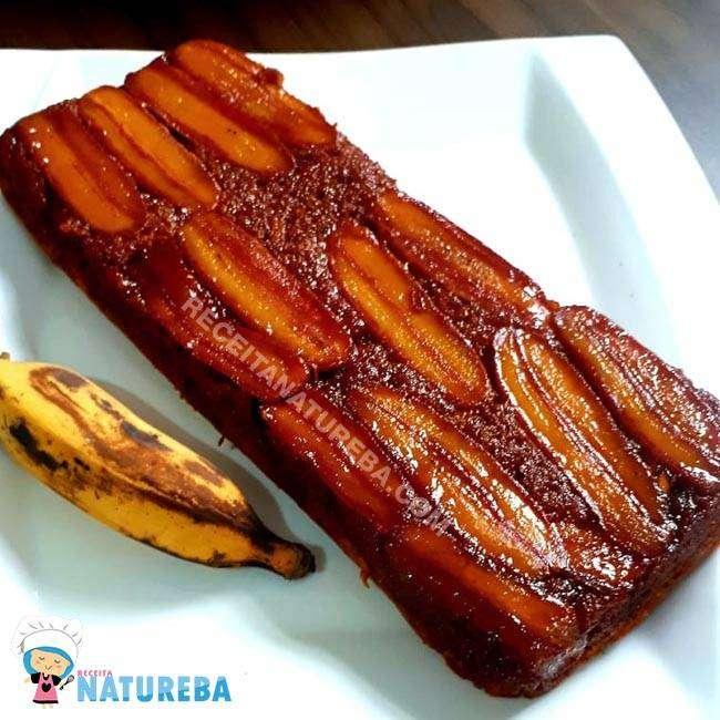 Bolo-de-Banana-com-Farinha-de-Amêndoas Bolo de Banana com Farinha de Amêndoas