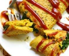 Como Fazer Omelete Vegano
