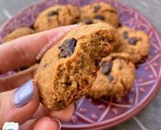 Cookies com Pasta de Amendoim