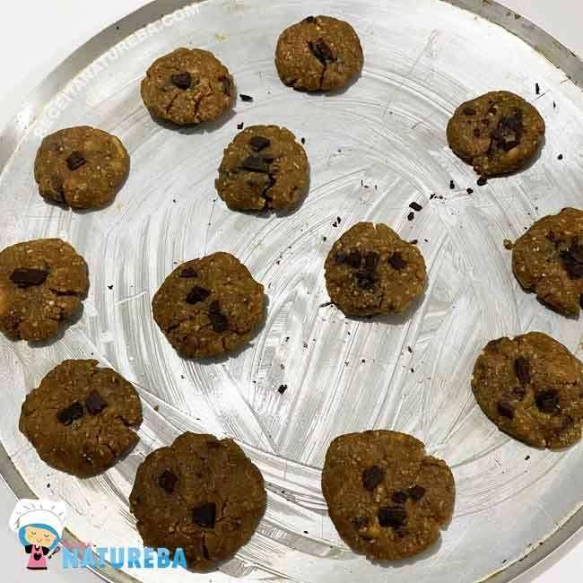 Cookies-com-Pasta-de-Amendoim-4 Cookies com Pasta de Amendoim