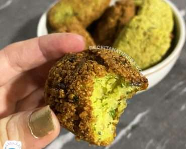 Receita de Falafel Vegano
