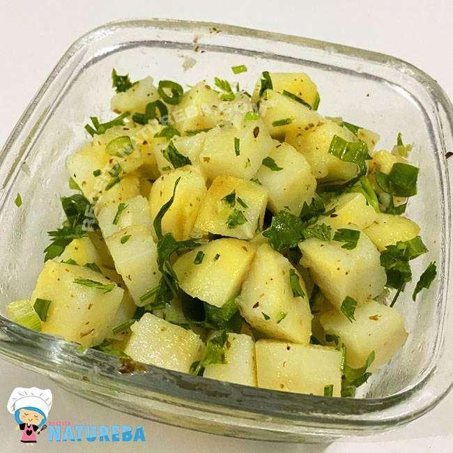 Salada-de-Batata-Sem-Maionese Salada de Batata Sem Maionese