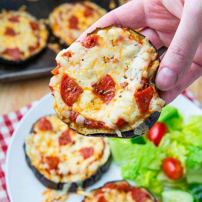 Berinjela-com-Queijo-e-Tomate Berinjela com Queijo e Tomate