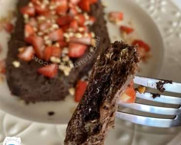 Brownie de Microondas Fit