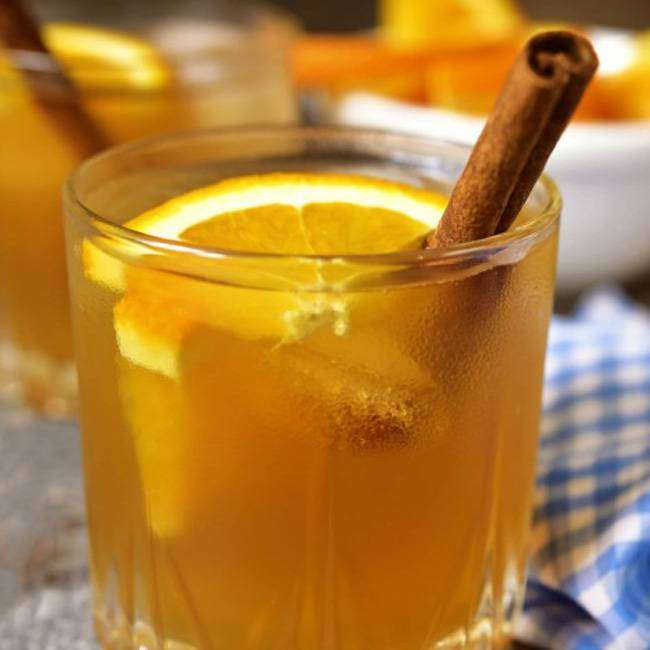 Chá de Laranja com Gengibre
