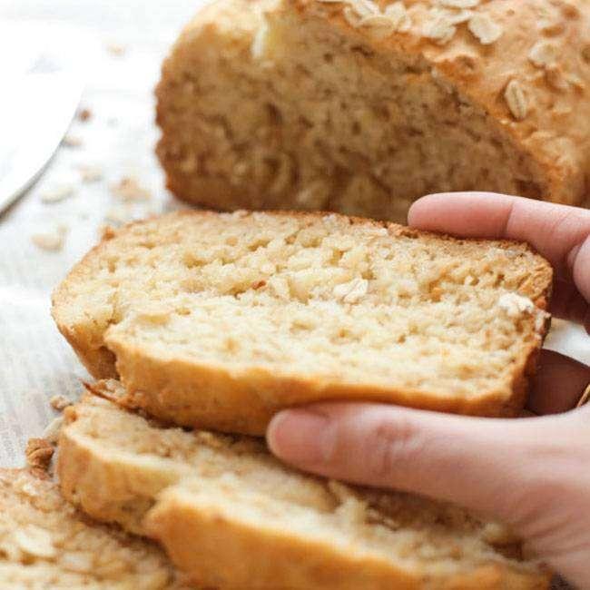 Pão-de-Aveia-Sem-Glúten-1 Pão de Aveia sem Glúten