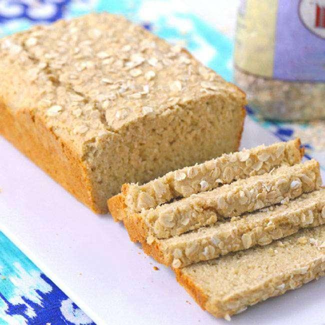 Pão-de-Aveia-Sem-Glúten Pão de Aveia sem Glúten
