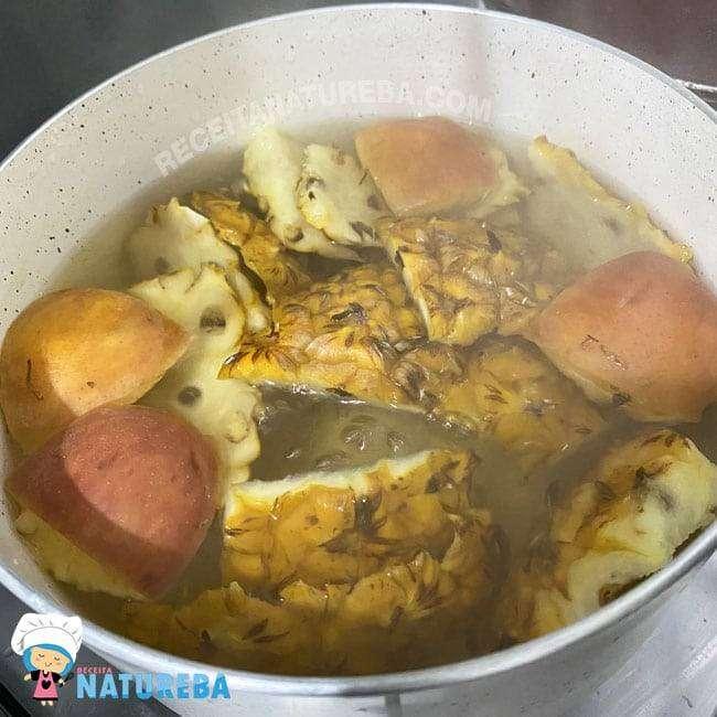 Chá-com-Casca-de-Abacaxi 27 Receitas para Emagrecer com Saúde