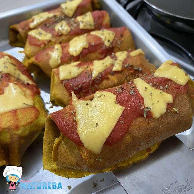 Panqueca-de-Abóbora 25 Receitas de Almoço para Emagrecer