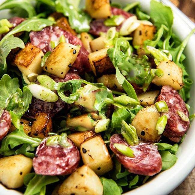Salada-de-Batata-Doce 27 Receitas para Emagrecer com Saúde