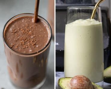 Vitamina com Leite de Coco