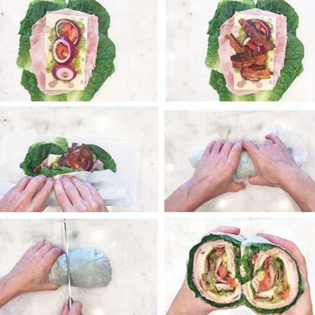 Sanduiche-de-Alface1 Sanduíche de Alface