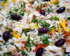 Salada de Bacalhau Fria
