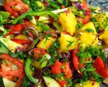 Salada de Natal Tropical