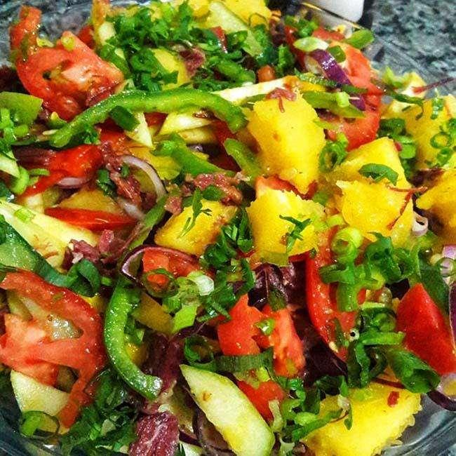Salada-de-Natal-Tropical Salada de Natal Tropical