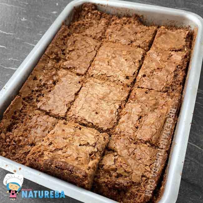 Brownie-com-Farinha-de-Arroz7 Brownie com Farinha de Arroz