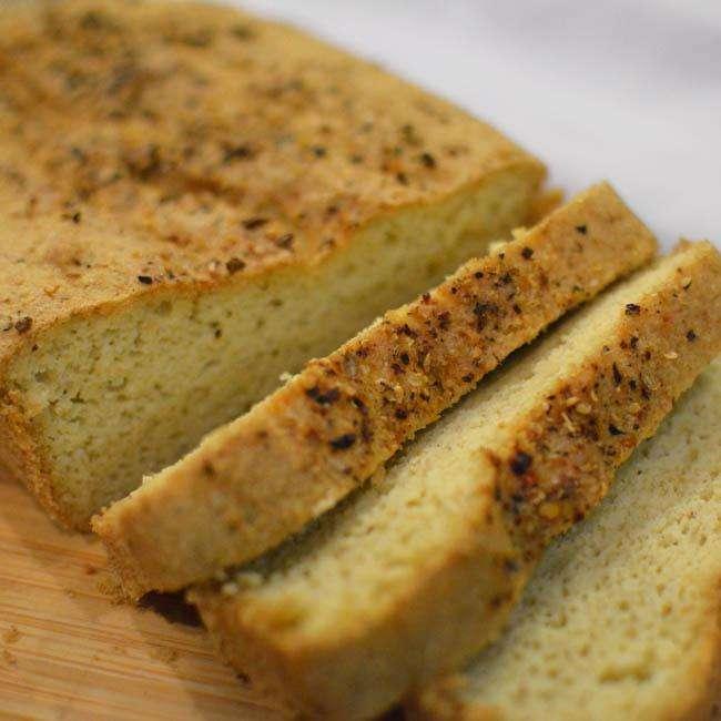 Pao-com-Farinha-de-Amendoas Pão com Farinha de Amêndoas