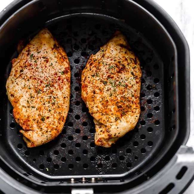 Peito-de-Frango-na-Airfryer Peito de Frango na Airfryer