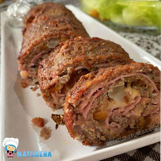 Rocambole-de-Carne-Fit Rocambole de Carne Fit