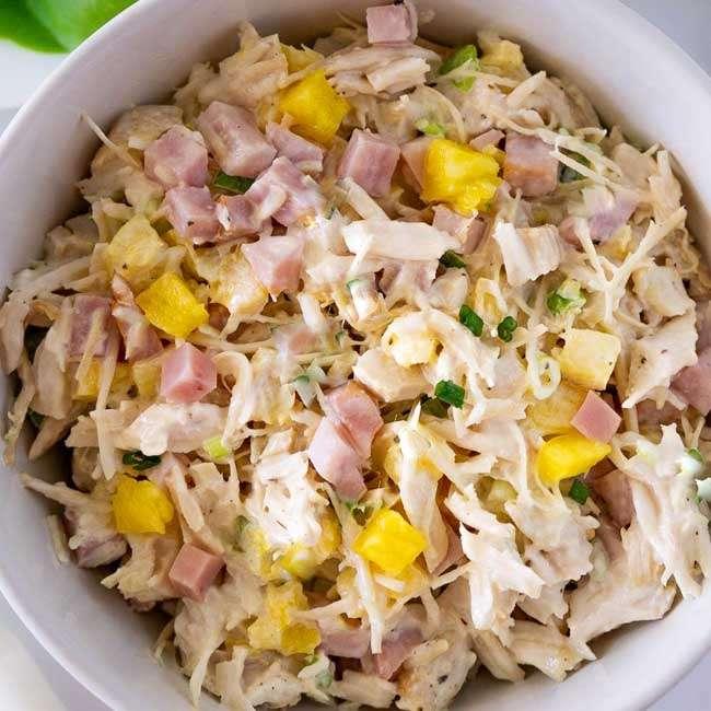 Salada-de-Frango-com-Abacaxi Salada de Frango com Abacaxi