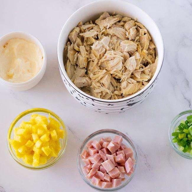 Salada-de-Frango-com-Abacaxi1 Salada de Frango com Abacaxi