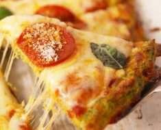 Massa de Pizza de Brócolis1