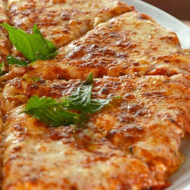 Pizza-Cetogenica Pizza Cetogênica